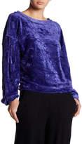 Free People Milan Velvet Pullover