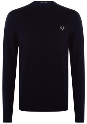 Fred Perry Merino Crew Jumper