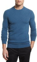 Theory Vetel Cashmere Long-Sleeve Sweater, Teal