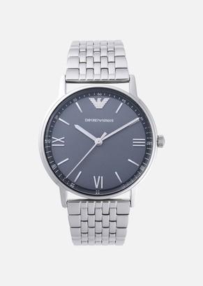 Emporio Armani Man Three-Hands Stainless Steel Watch