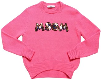 MSGM Acrylic Blend Knit Sweater