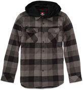 Quiksilver Hoodie, Coffee Cruise Hooded Flannel Shirt