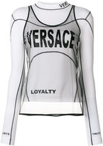 Versace layered two-piece top