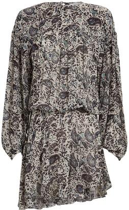 Etoile Isabel Marant Nimazu Paisley Chiffon Dress