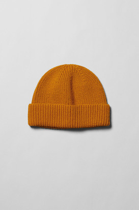 Weekday Frank Beanie - Yellow