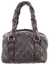 Chanel Small Lady Braid Bowler Bag