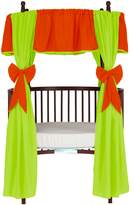 Babydoll Baby Doll Solid Reversible Round Crib Curtain Set