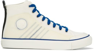 Diesel high top vulcanised sole sneakers
