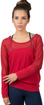 Soybu Women's Suzette Dolman Yoga Top