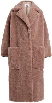 Nanushka Imogen Wool-Blend Teddy Coat