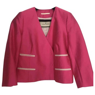 By Malene Birger Pink Silk Jackets