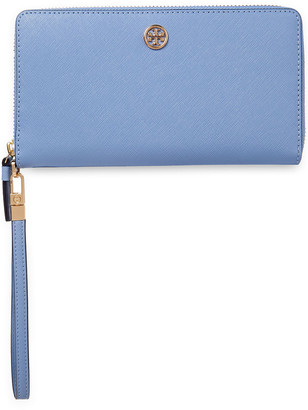 Tory Burch Robinson Textured-leather Wallet