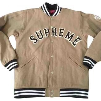Supreme Brown Cotton Jackets
