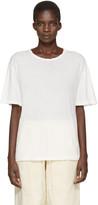 LAUREN MANOOGIAN Ivory Vellum T-Shirt