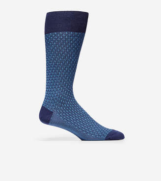 Cole Haan Dog Bone Texture Crew Socks
