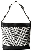 French Connection Charlie Woven Hobo