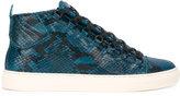 Balenciaga snakeskin-effect sneakers