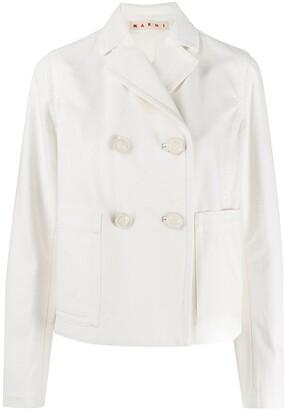 Marni Double Breasted Boxy Jacket