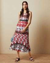 Ted Baker Fishtail Lace Floral Dress