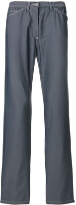 Versace Pre-Owned stitching details trousers