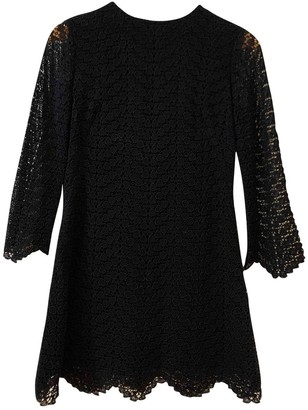 Non Signé / Unsigned Non Signe / Unsigned Hippie Chic Black Wool Dresses