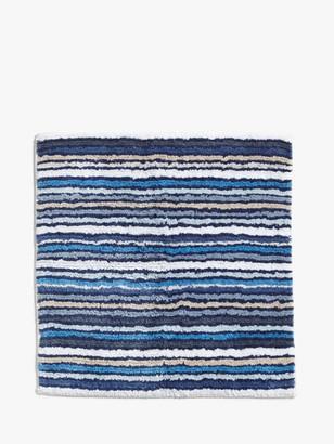 John Lewis & Partners Stripe Reversible Shower Mat