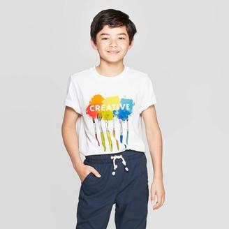 Cat & Jack Boys' Short Sleeve Graphic T-Shirt - Cat & JackTM