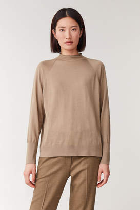 Cos LIGHTWEIGHT WOOL-SILK JUMPER