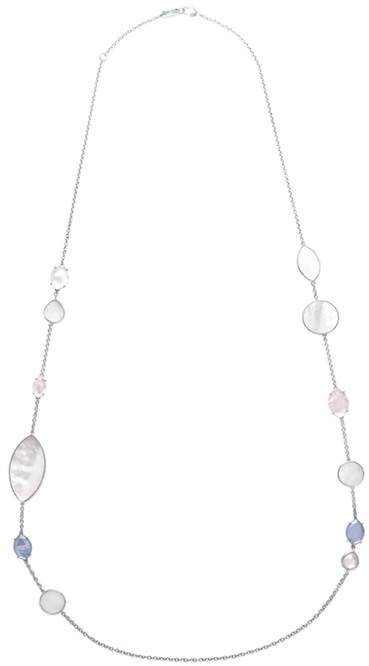 Ippolita Sterling Silver Wonderland Gemstone Station Necklace