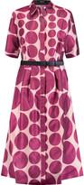 Raoul Ava printed satin-twill dress