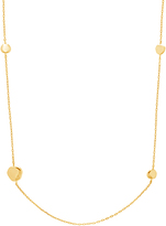 Bliss Gold Circle Station Necklace