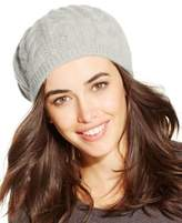 Charter Club Cashmere Cable Beret, Created for Macy's