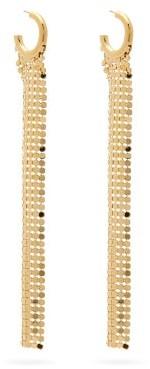 Paco Rabanne Chainmail-drop Hoop Earrings - Gold