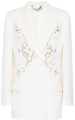 Stella McCartney Embroidered wool blazer