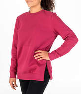 adidas Women's ID Long-Sleeve Cover-Up Sweatshirt
