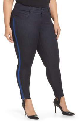 YSJ Zip Ankle Stirrup Skinny Jeans