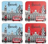 Harrods London Coasters (Set of 4)