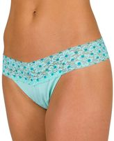 Candies Juniors' Candie's® Lace-Waist Microfiber Thong
