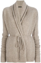 The Row loose fit knitted jacket - women - Cashmere - XS