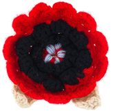 Christopher Kane Crochet Flower Brooc