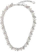 Susan Caplan Vintage 1960's Trifari leaf necklace