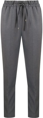Blumarine Drawstring Tapered Trousers
