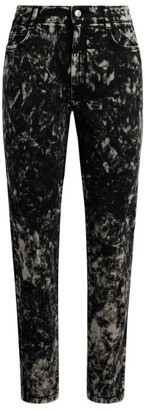 Stella McCartney Galaxy Print Boyfriend Jeans
