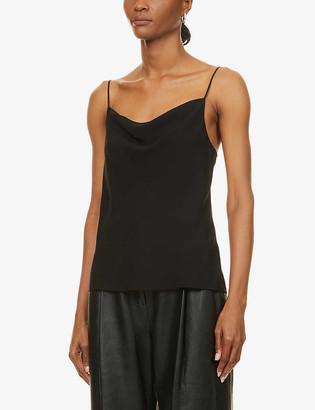 J Brand Finley silk-crepe camisole