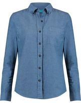 MiH Jeans Ansel Cotton-Chambray Shirt