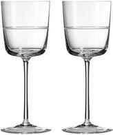 Vera Wang Wedgwood Bande Wine Glasses - Set of 2