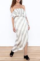 L'atiste Striped Skirt Set