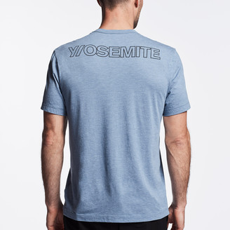 James Perse Y/Osemite Melange Tech Jersey T-Shirt