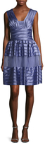 Temperley London Lilith Paneled Fit And Flare Dress