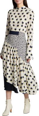 Stella McCartney Amora Silk Fruit-Print Dress
